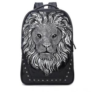 3D Lion Backpack