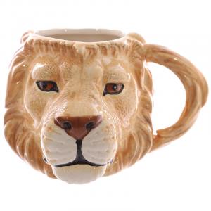 3D Lion Head Mug