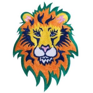 Colorful Lion Patch