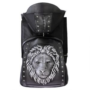 Hooded Lion Backpack