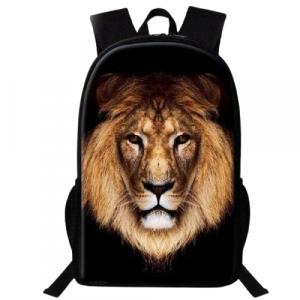 Lion Face Backpack