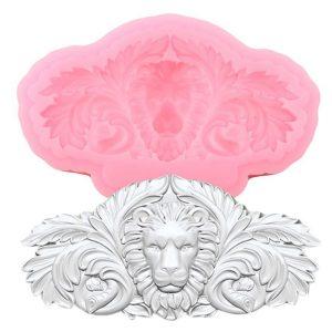 Lion Head Silicone Mold
