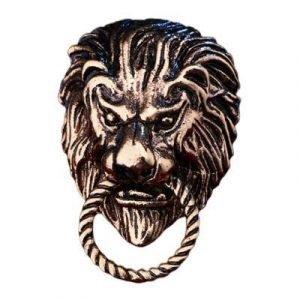 Lion Head brooch