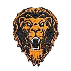 Lion Sew On Patch