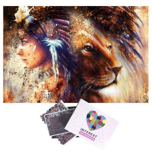 Majestic Lioness Puzzle