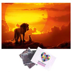 Mufasa Lion Puzzle