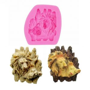 Lion Pastry Mold