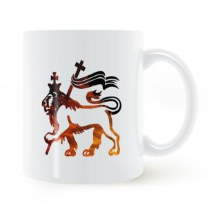 Rasta Lion Of Judah Mug
