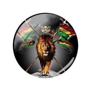 Rasta Pin lion