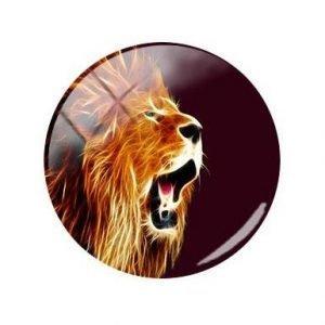 Roaring Lion Pin