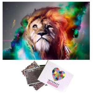 Lion Art Puzzle