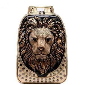 Backpack with Lion Head