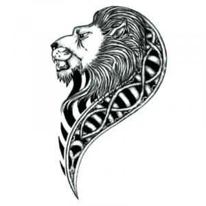 egyptian lion tattoo meaning