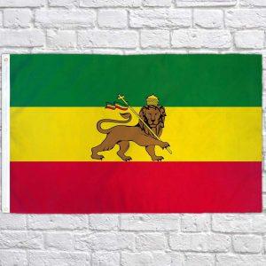 Ethiopian Flag Lion