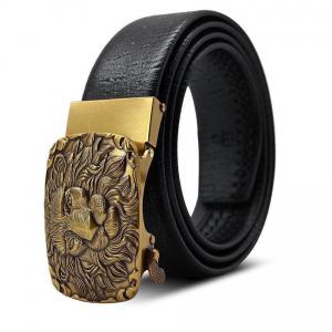 Gold Lion Head Belt