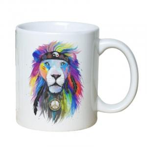 Hippie Lion Mug