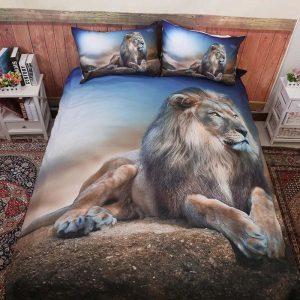 lion bed comforter set king size