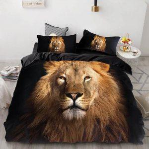 lion bed set full