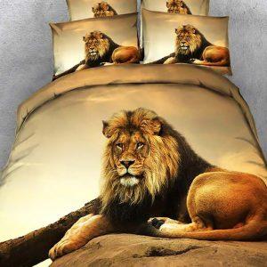 lion comforter set queen size