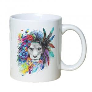 Lion Crown Mug