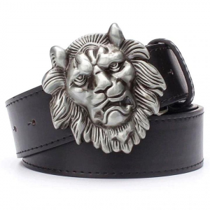 Lion Head Belt Buckle