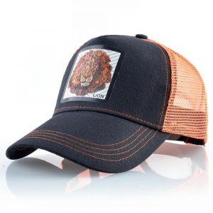 lions trucker cap orange