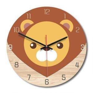 small lion clock