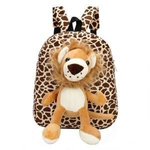 Plush Lion Backpack