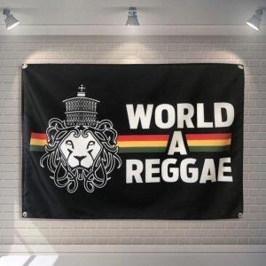 reggae lion flag