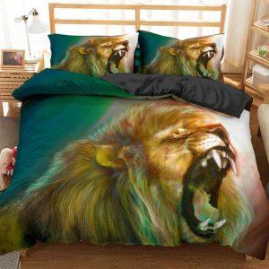 roaring lion bedding set