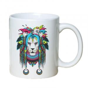 Shaman Lion Mug