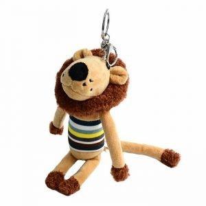 stuffed lion keychain