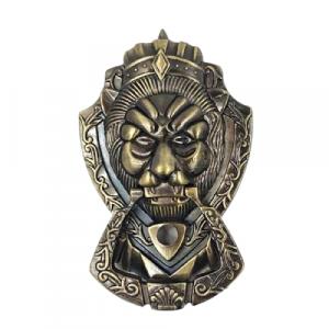 vintage lion door knocker