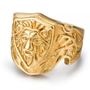 Antique Lion Ring
