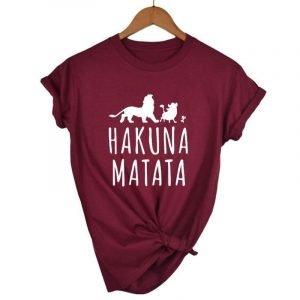 Burgundy Lion King T-shirt
