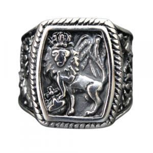 Christian Lion of Judah Ring