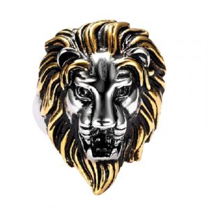 Gypsy Lion Head Ring