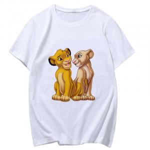 Girls Simba and Nala Lion King T-shirt