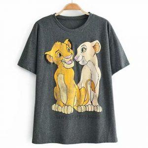 Simba and Nala the Lion King T-shirt