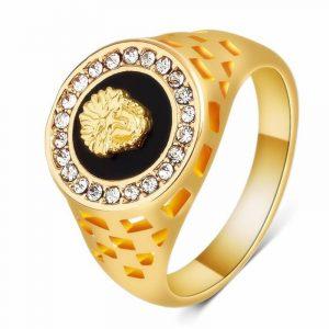 Women's Lion Head Ring