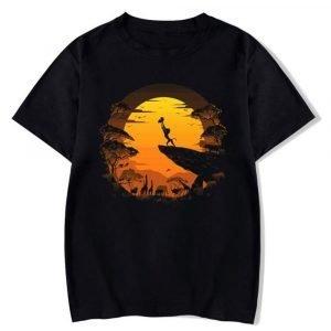 Black Lion King Shirt