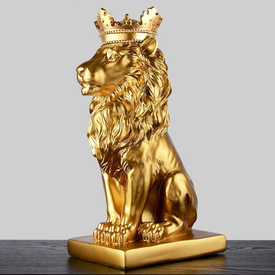 lion statues collection