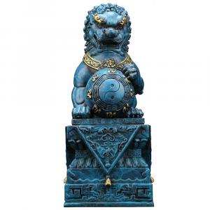 Asian Lion Statue