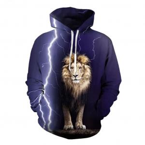 Atlas Lion Hoodie