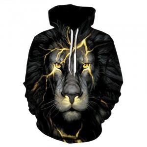 Black Lion Hoodie