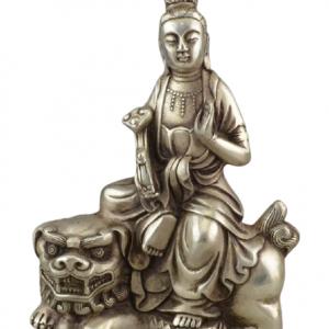 Buddhist Lion Statue