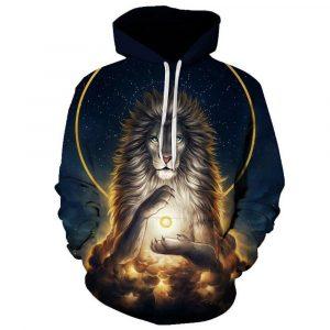Clairvoyant Lion Hoodie