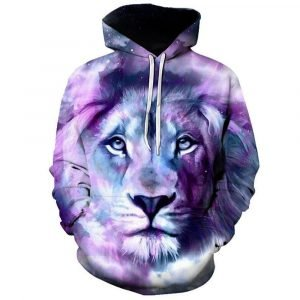 Colored Lion King Hoodie