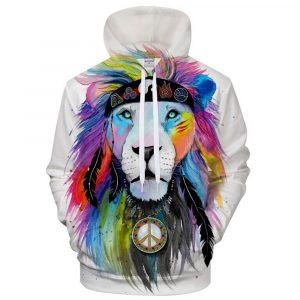 Cool King Lion Hoodie
