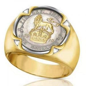 Lion Coin Ring